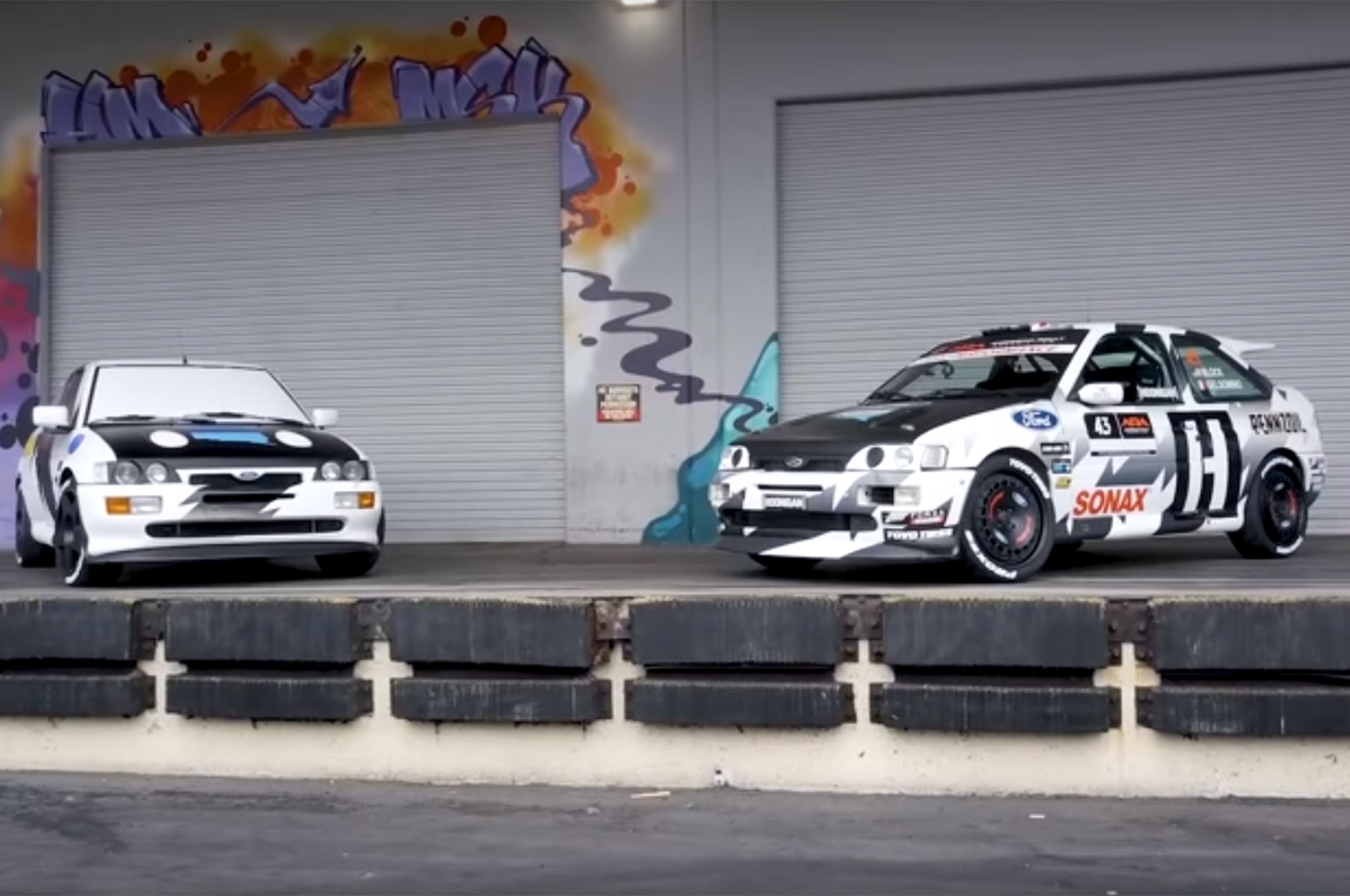 This is Ken Block\'s Killer 1993 Ford Escort RS Cosworth Rally Car ...