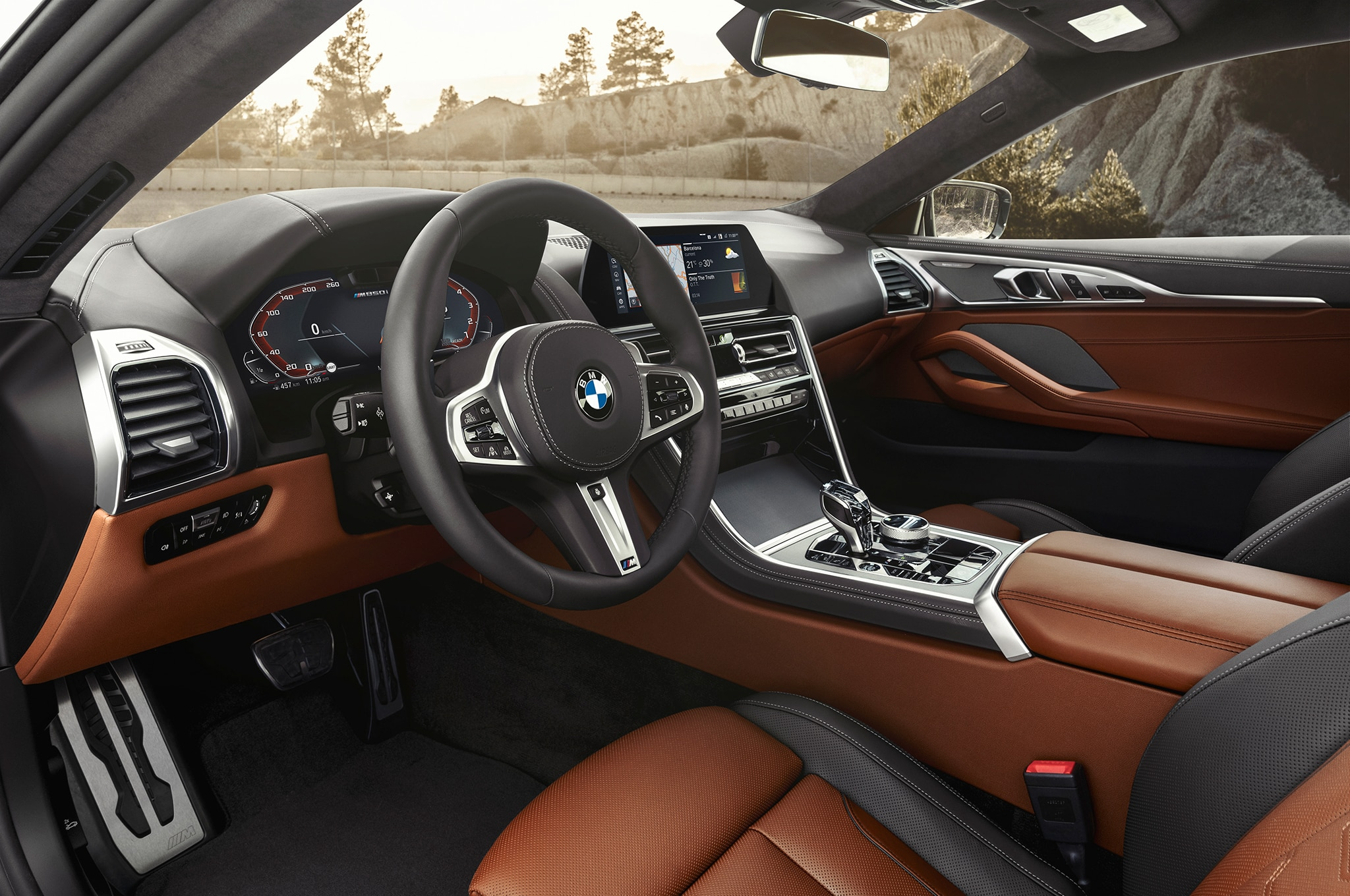 2019 bmw 8 series coupe debuts with 523 hp automobile magazine. Black Bedroom Furniture Sets. Home Design Ideas