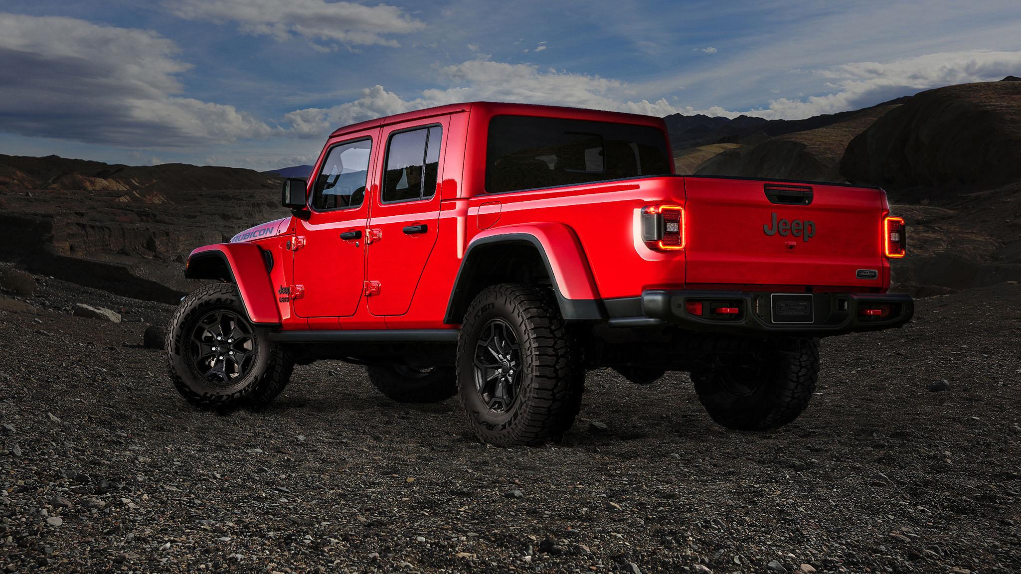jeep gladiator launch edition sells  automobile magazine