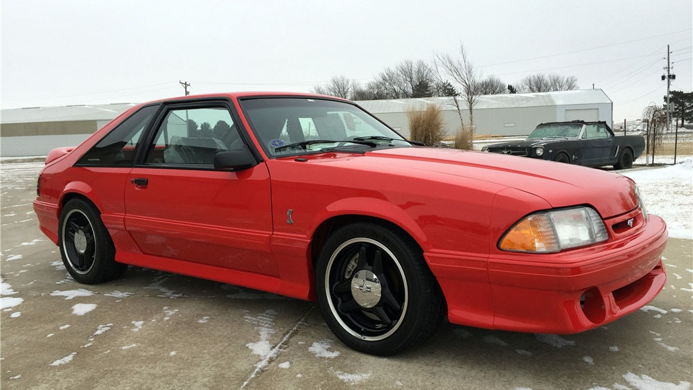 Will This 93 Cobra R Be The New Priciest Fox Body Mustang