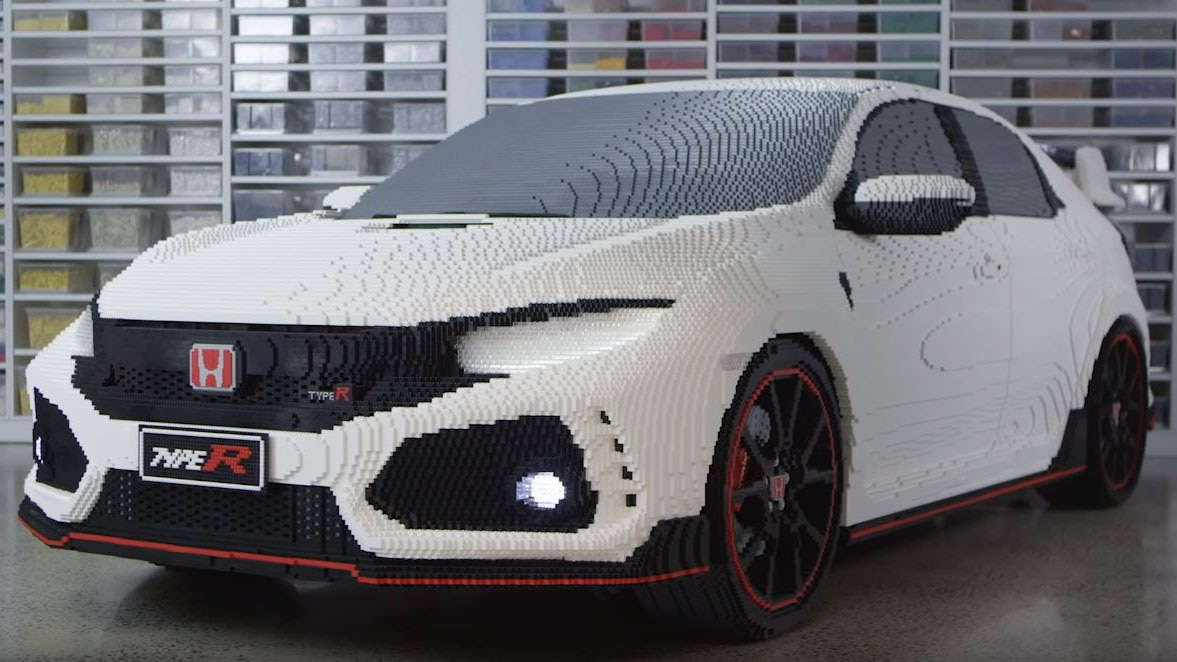 There S Now A Full Size Lego Honda Civic Type R