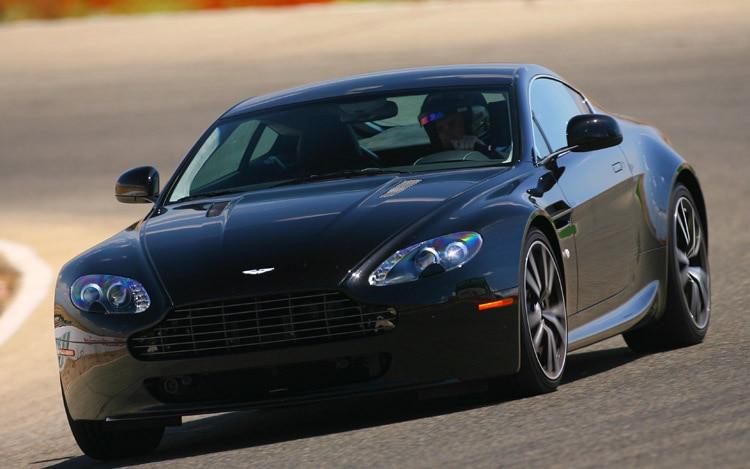 Feature Flick Aston Martin V8 Vantage N420 Tackles Nurburgring