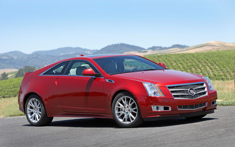 2011 Cadillac Cts Coupe Cadillac Luxury Coupe Review Automobile