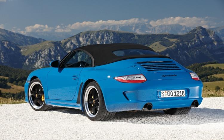 2011 Porsche 911 Speedster 2010 Paris Auto Show Automobile Magazine