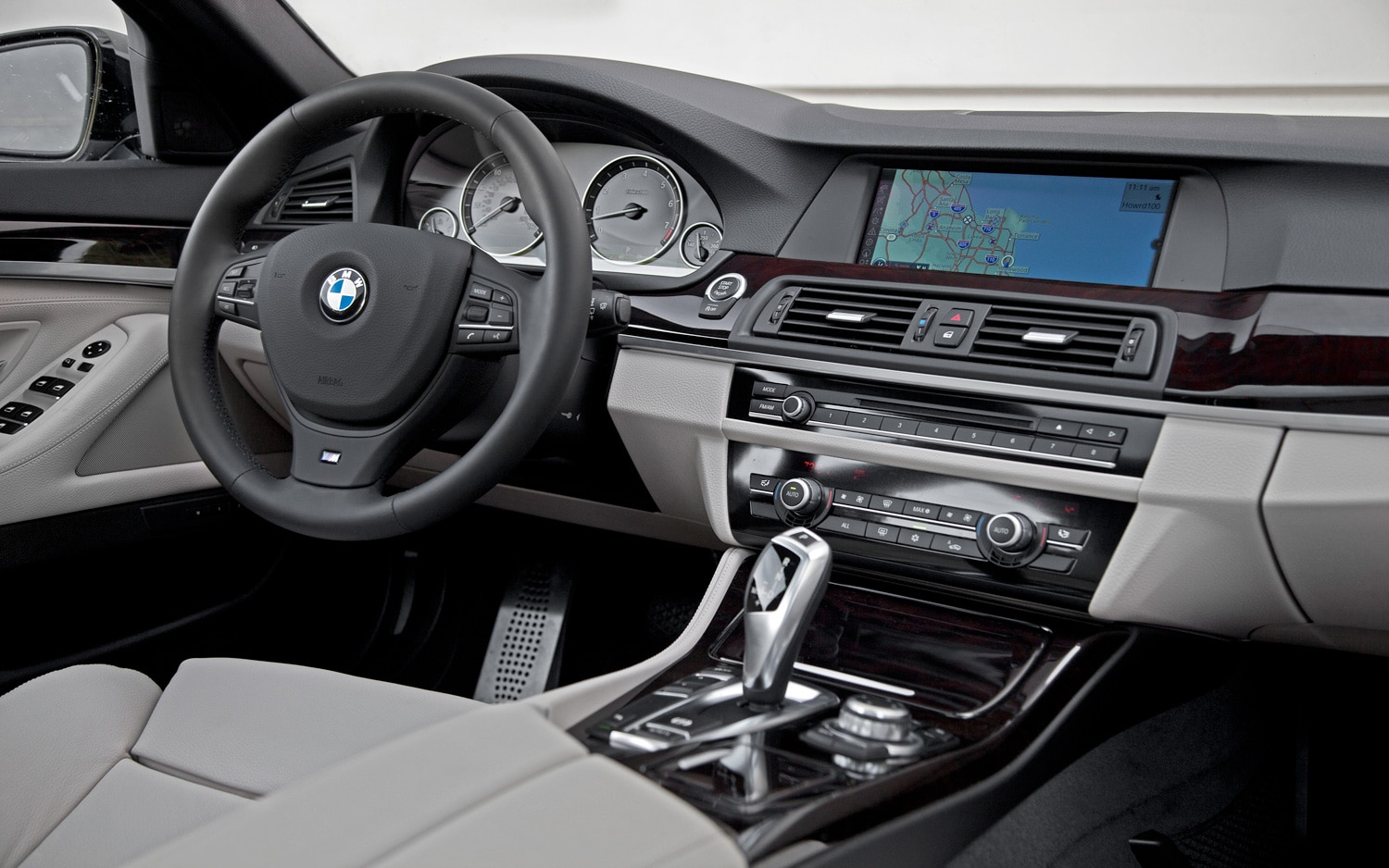 First Drive 2012 BMW 528i Four Cylinder