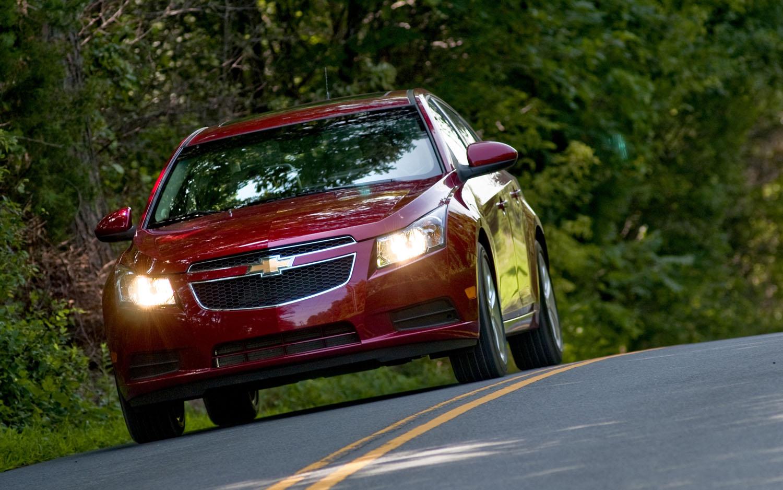 2012 Chevrolet Cruze 2lt Editors Notebook Automobile Magazine Chevy Volt Fuse Box Front Three Quarter