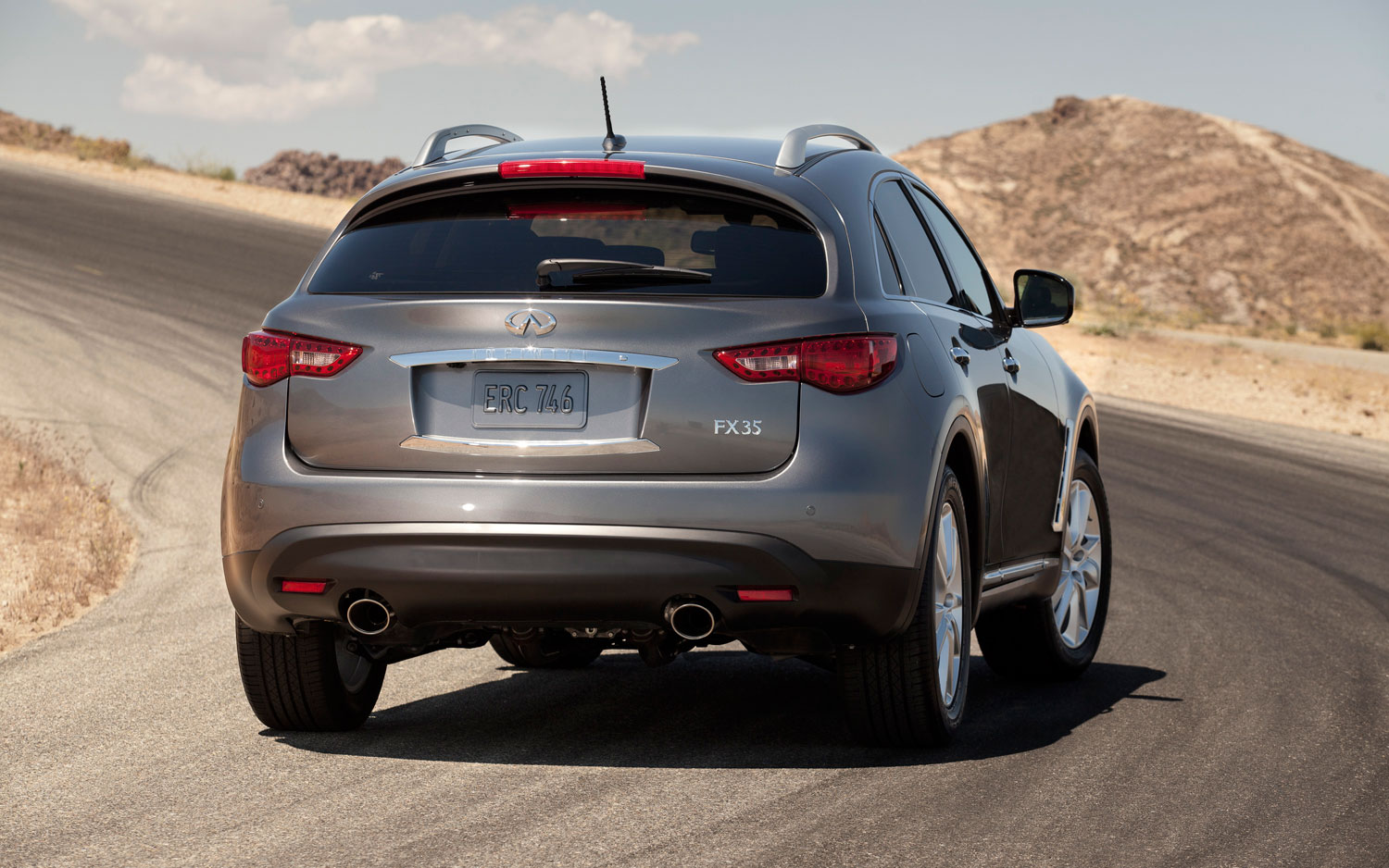 New Infiniti Fx Now With Iphone Compatible Seats Fx35 Tail Light Wiring Diagram 2012 Rear Shot