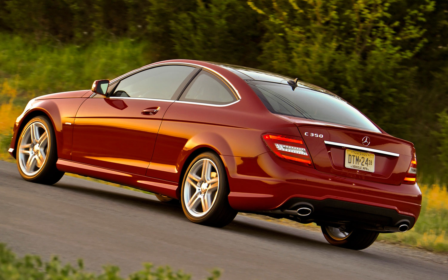 2012 Mercedes Benz C63 Amg Coupe First Look Automobile Magazine