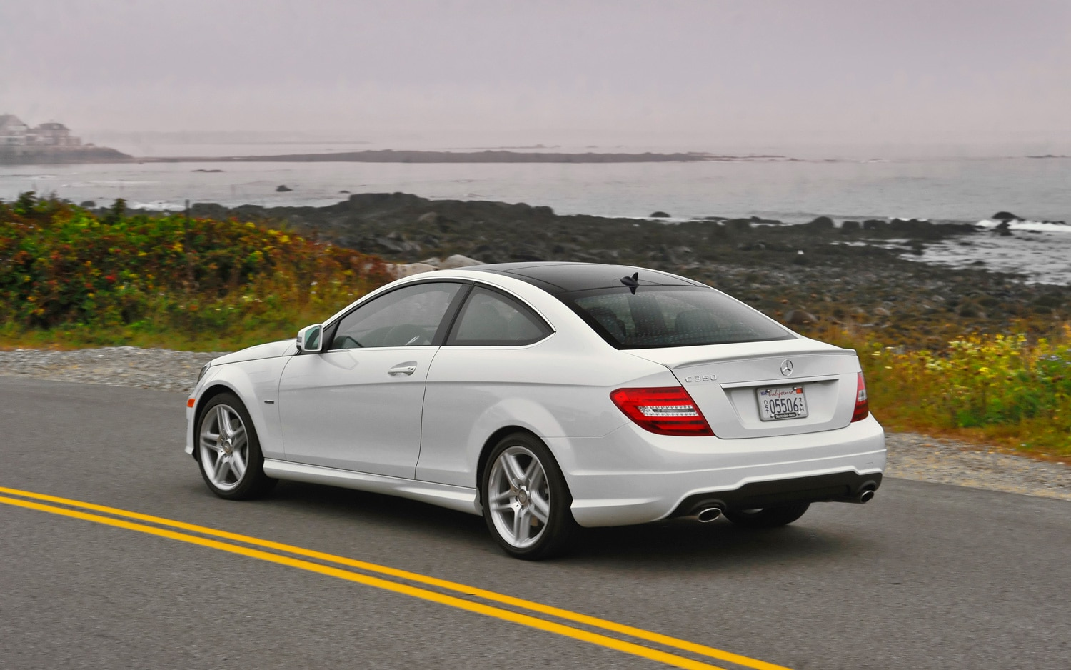 2012 mercedes benz c350 coupe editors 39 notebook. Black Bedroom Furniture Sets. Home Design Ideas