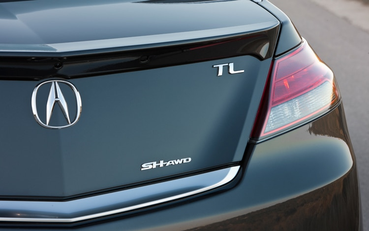 Acura TL SHAWD Advance Editors Notebook Automobile Magazine - Acura tl wheel specs