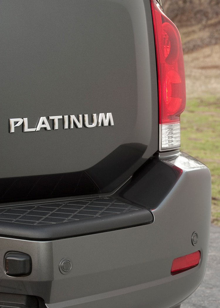 2012 Nissan Armada Platinum - Editors' Notebook - Automobile
