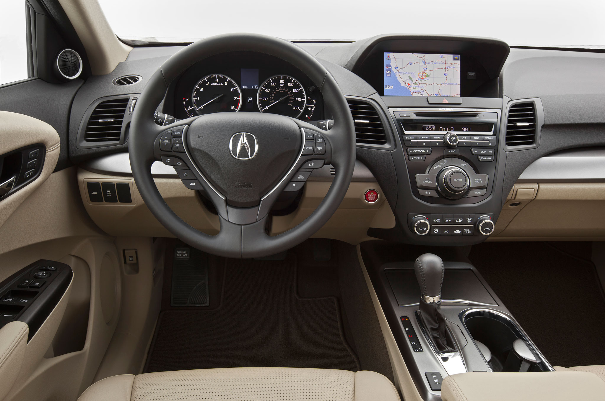 2013 Acura RDX Drivers Side Dashboard