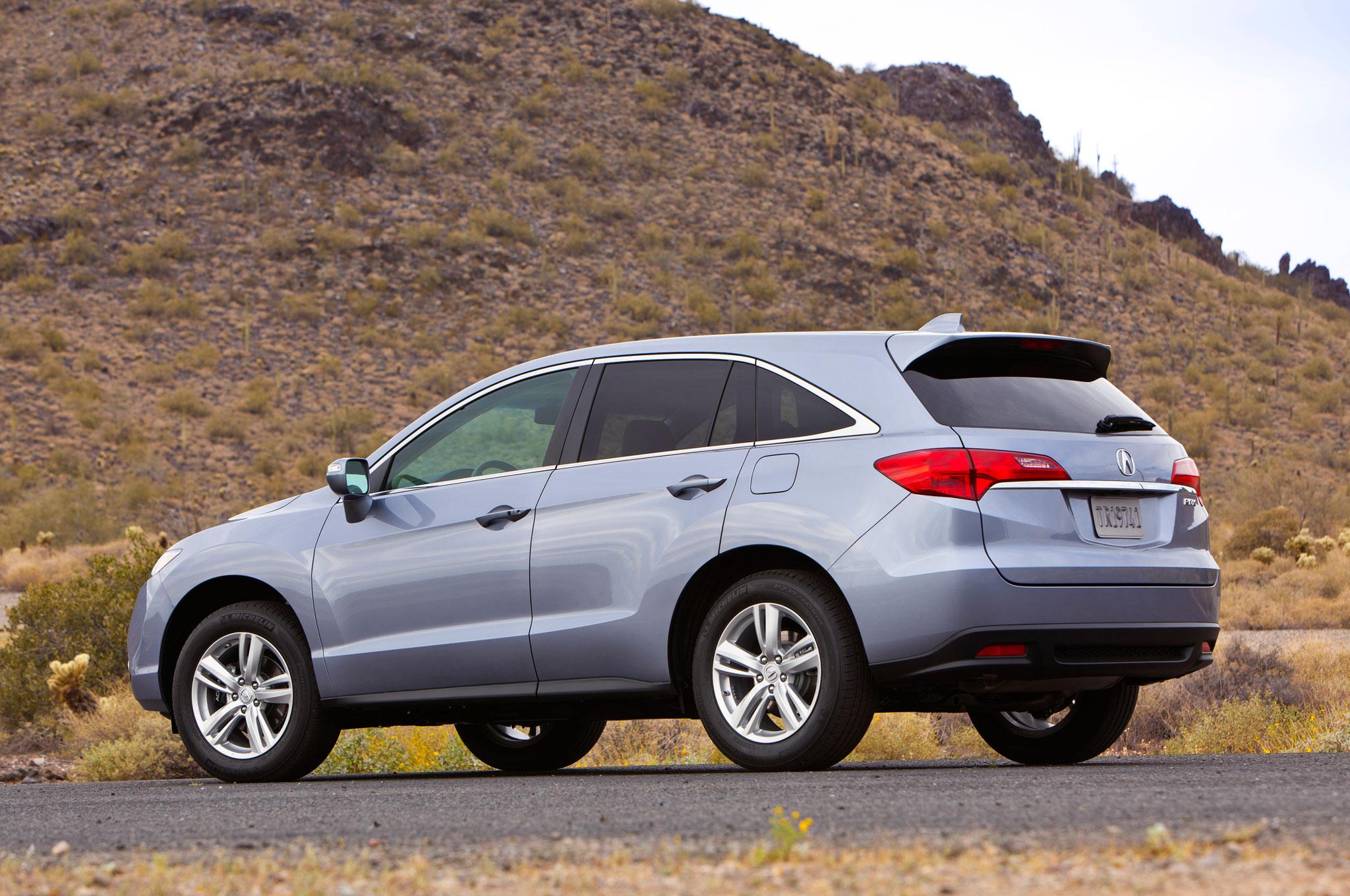 2013 Acura RDX Rear Angle Mountains 2. 19|121 · 2013 Acura RDX ...