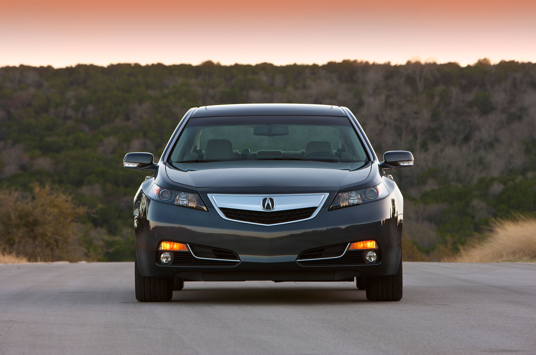 Acura Introduces 2013 Tl Special Edition 2003 Cl Wiring Speaker Sh Awd Front View Profile