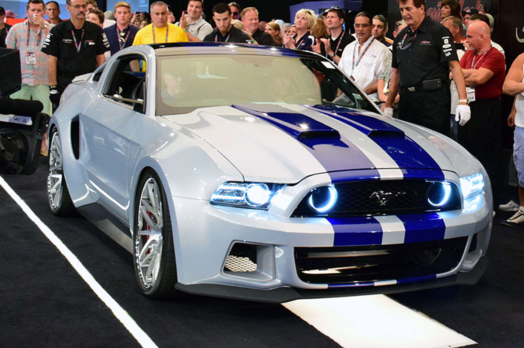 Need for speed ford mustang auctioned for 300000 automobile