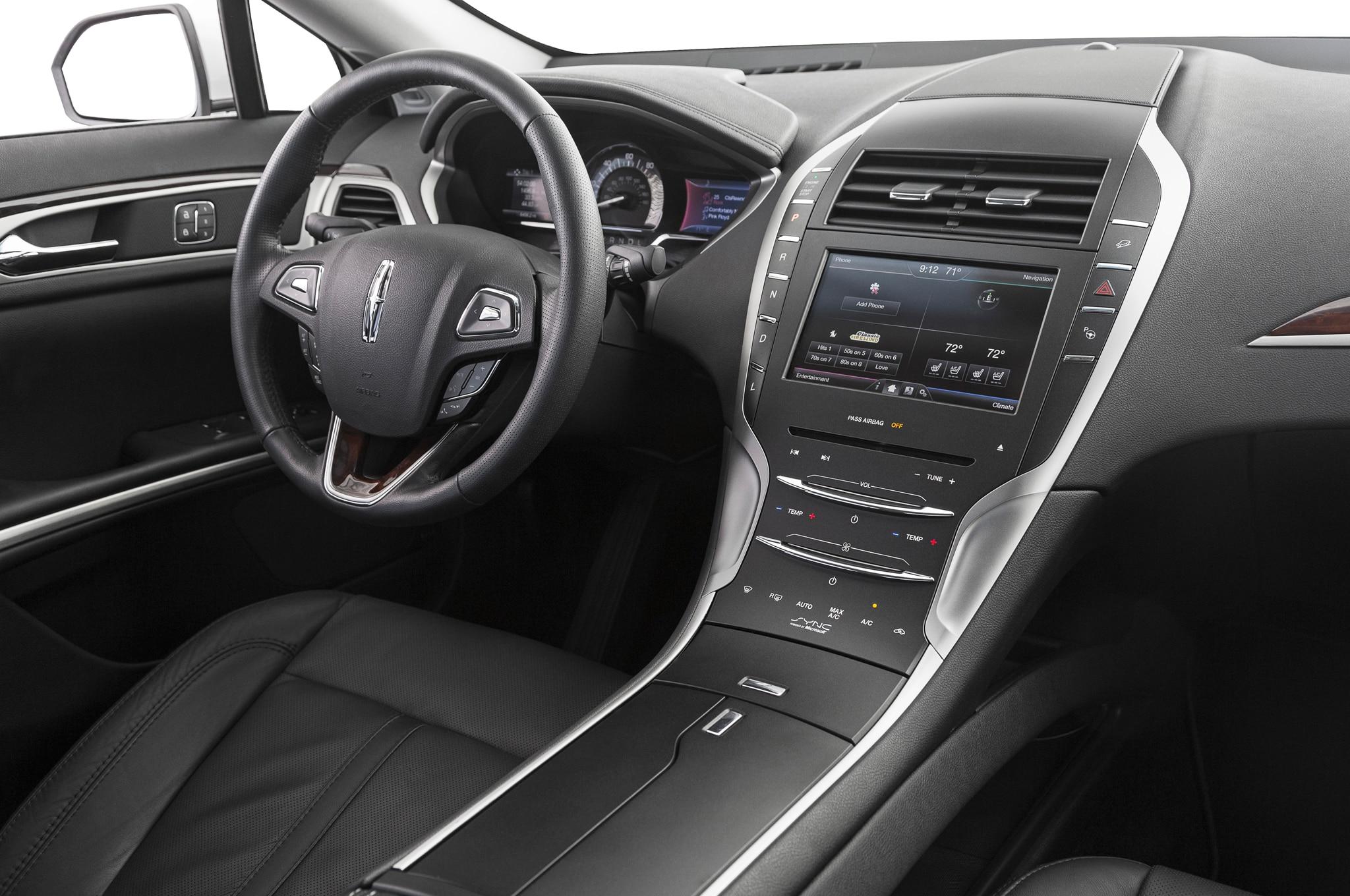 Lincoln Mkz Hybrid Interior