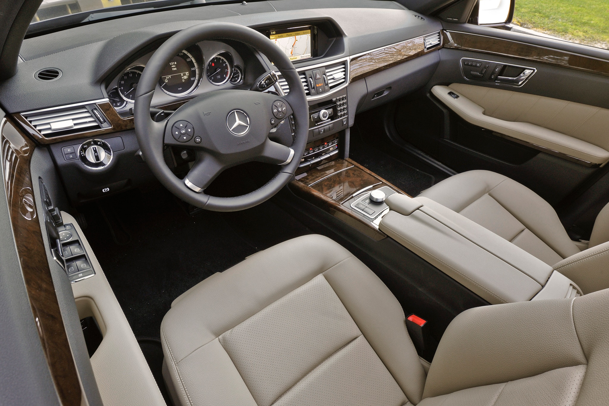 2013 Mercedes E-Class and C-Class Priced, E400 Hybrid ...