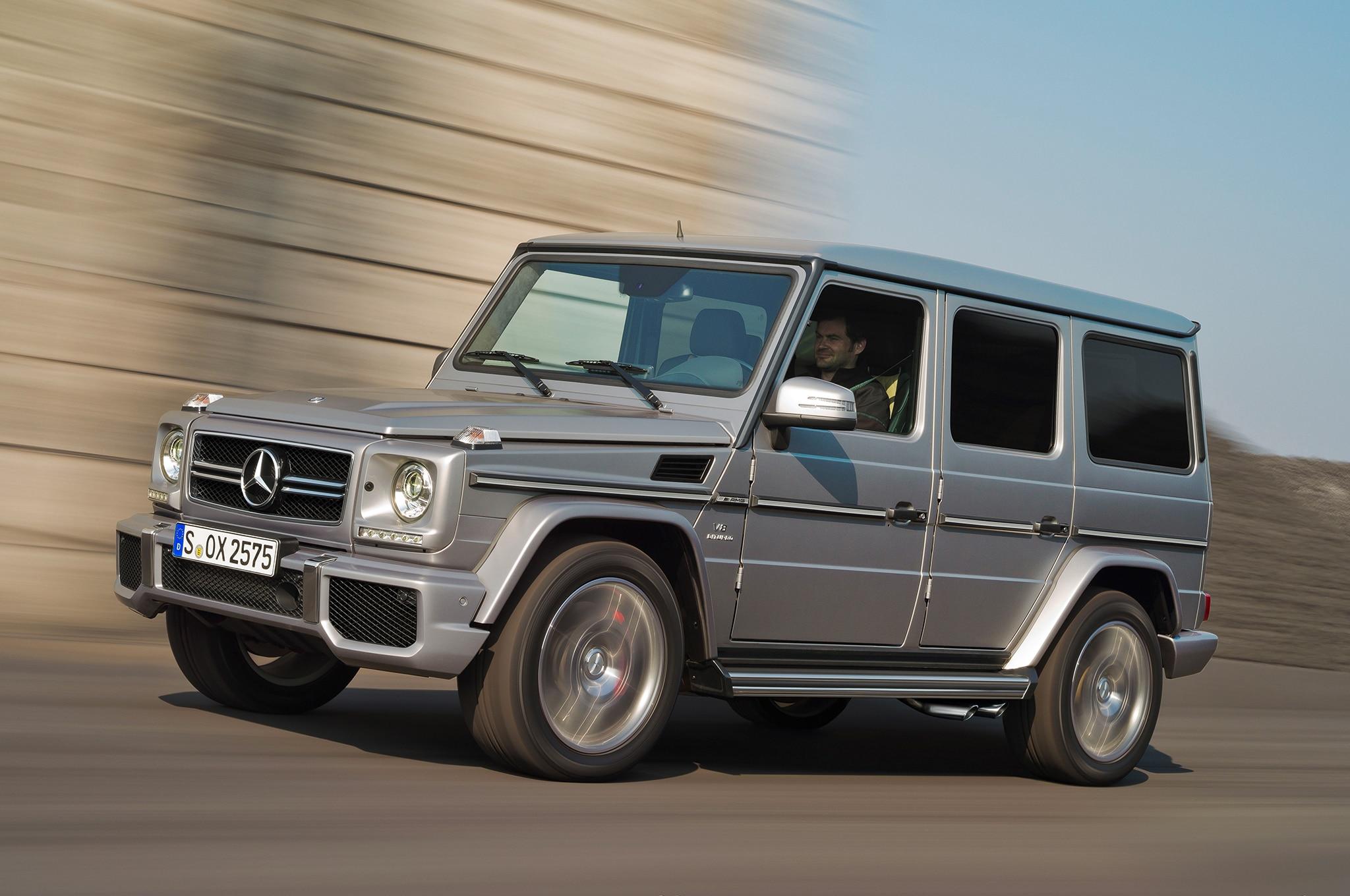 Mercedes Benz Builds G63 Amg 6x6