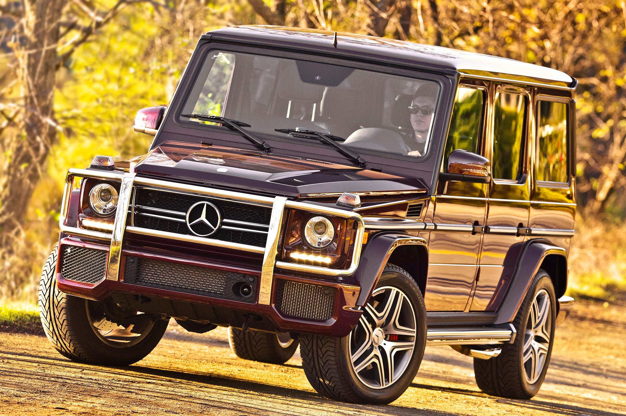 Mercedes-Benz Builds G63 AMG 6x6