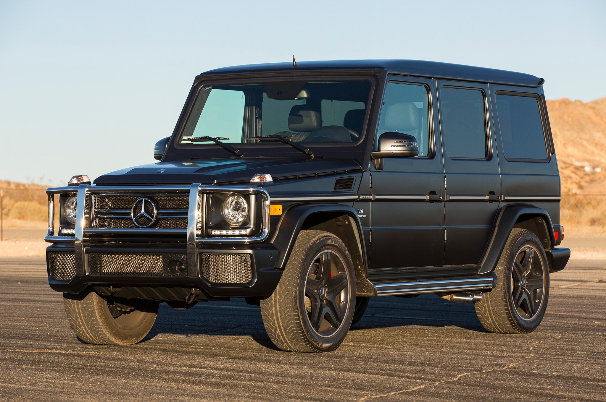 Mercedes-Benz Builds G63 AMG 6x6