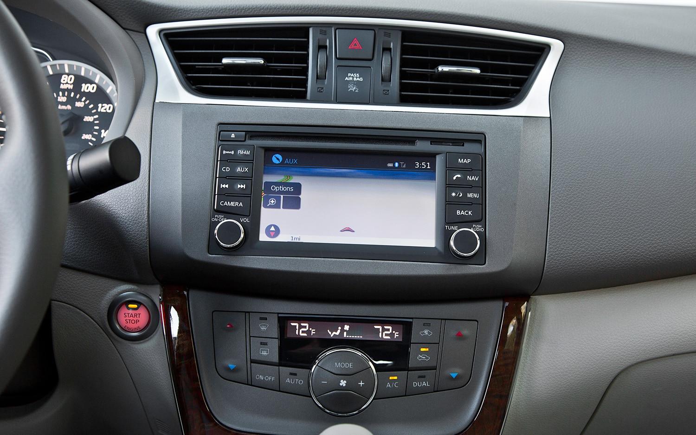 2012 nissan sentra navigation system