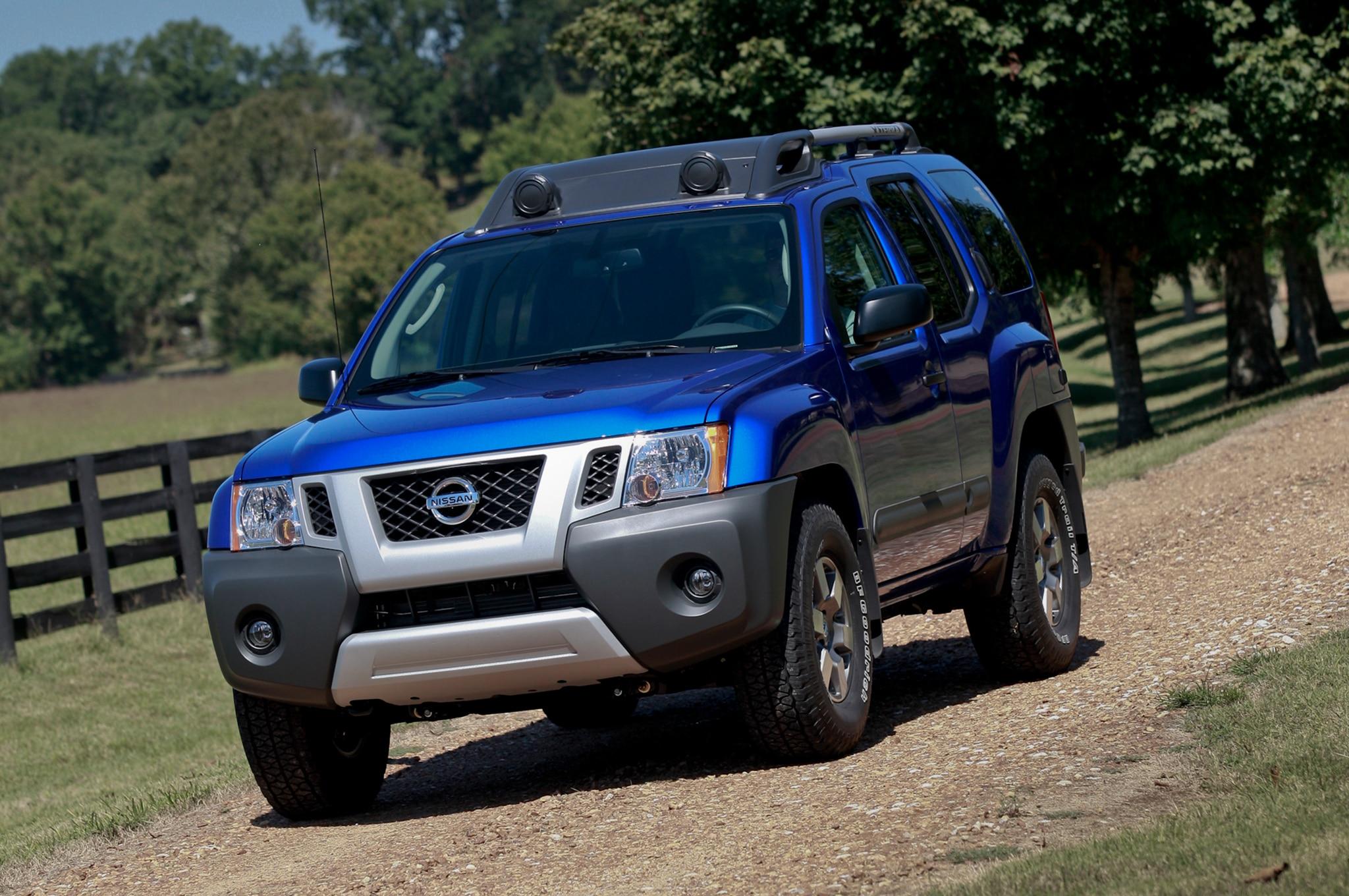 Nissan Xterra Three Quarters Drivers View