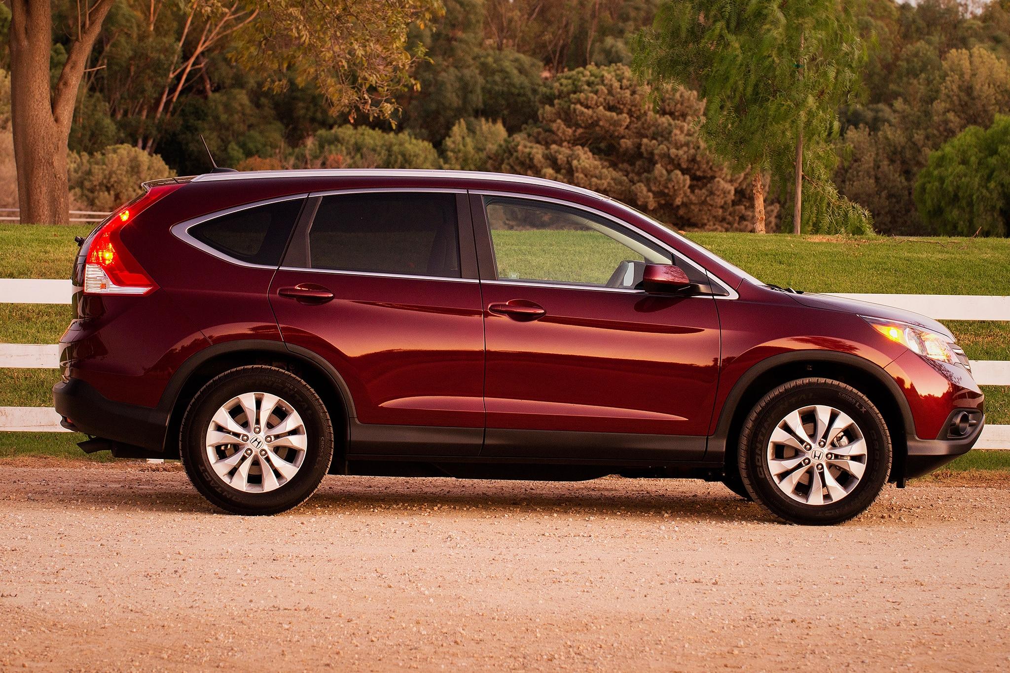 Honda CR-V Is Best-Selling CUV In April 2013