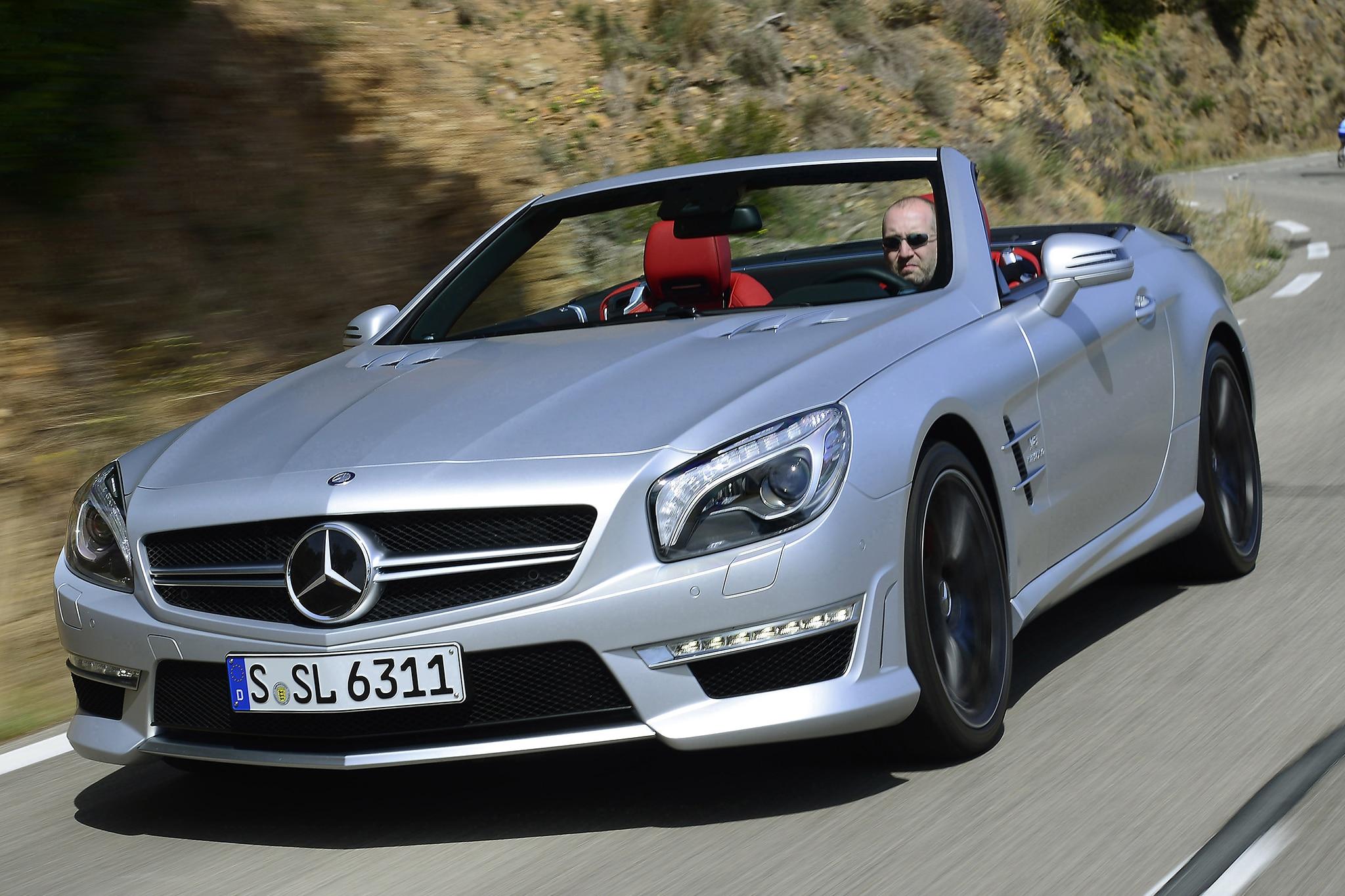 German Icons 2013 Mercedes-Benz SL - Automobile Magazine