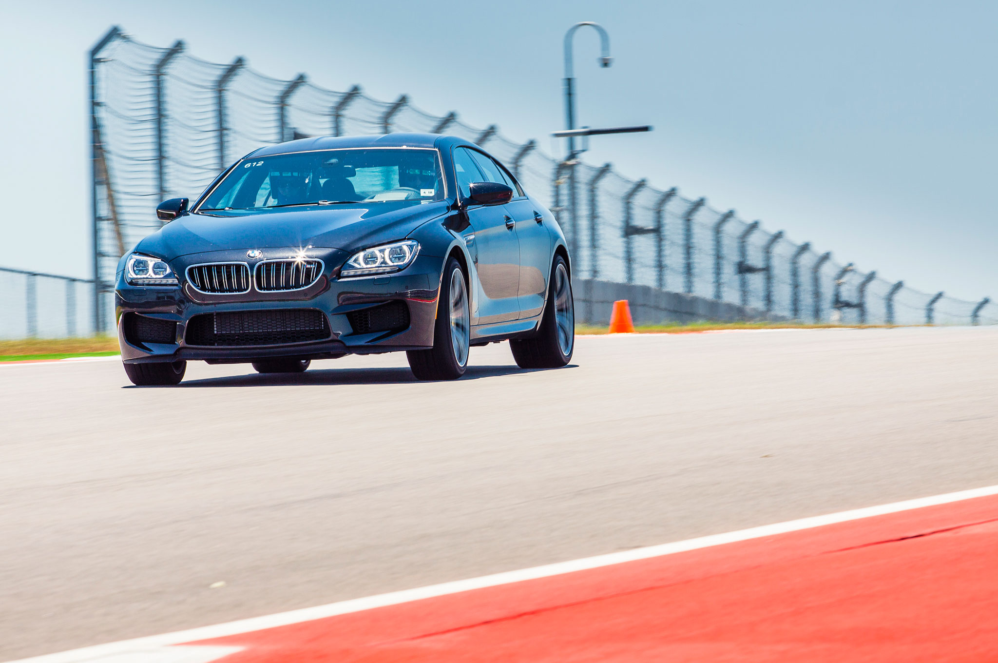 2014 BMW M6 Gran Coupe at Circuit of the Americas Automobile Magazine