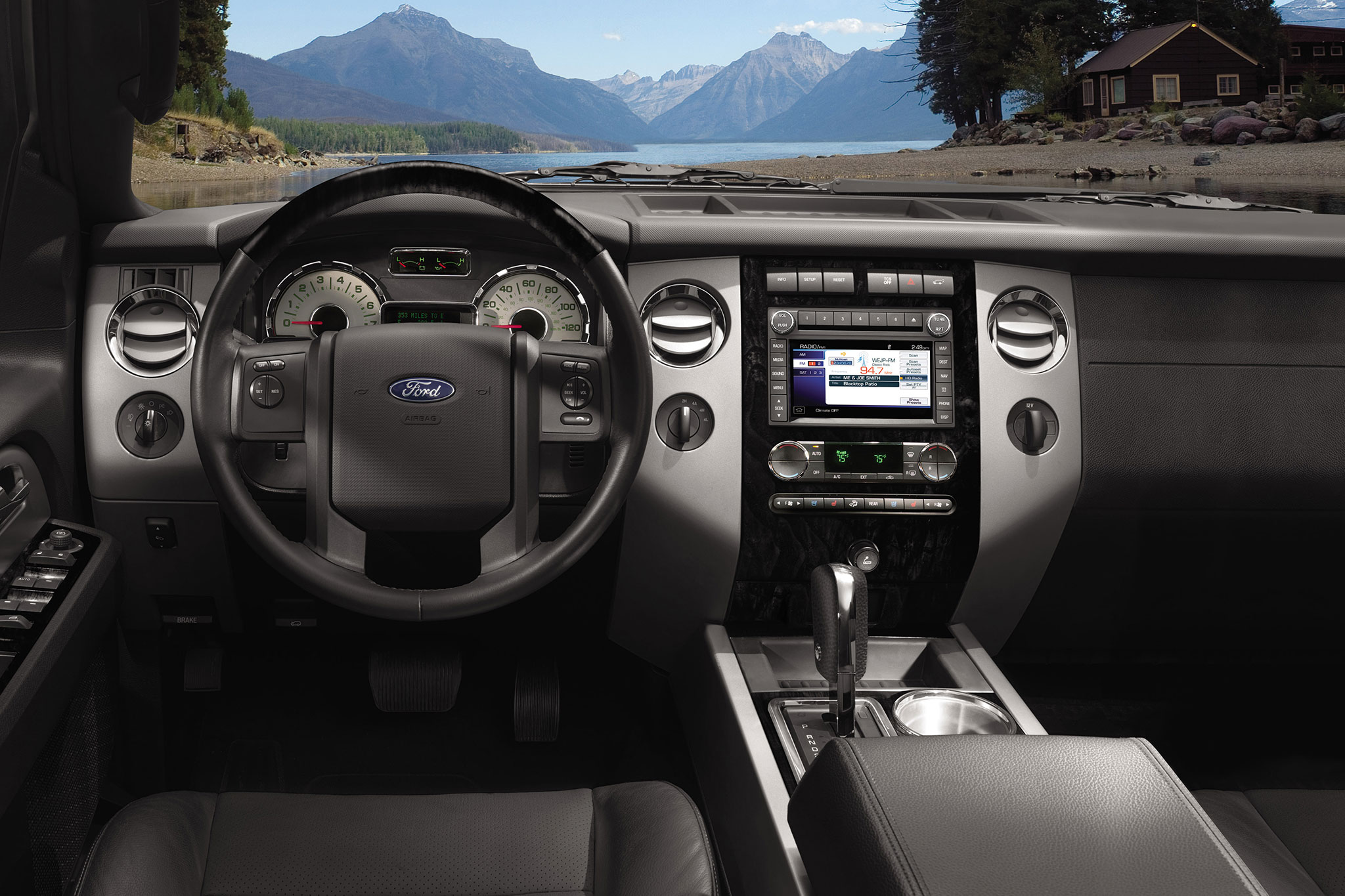 Spied 2015 Ford Expedition Interior Uncovered
