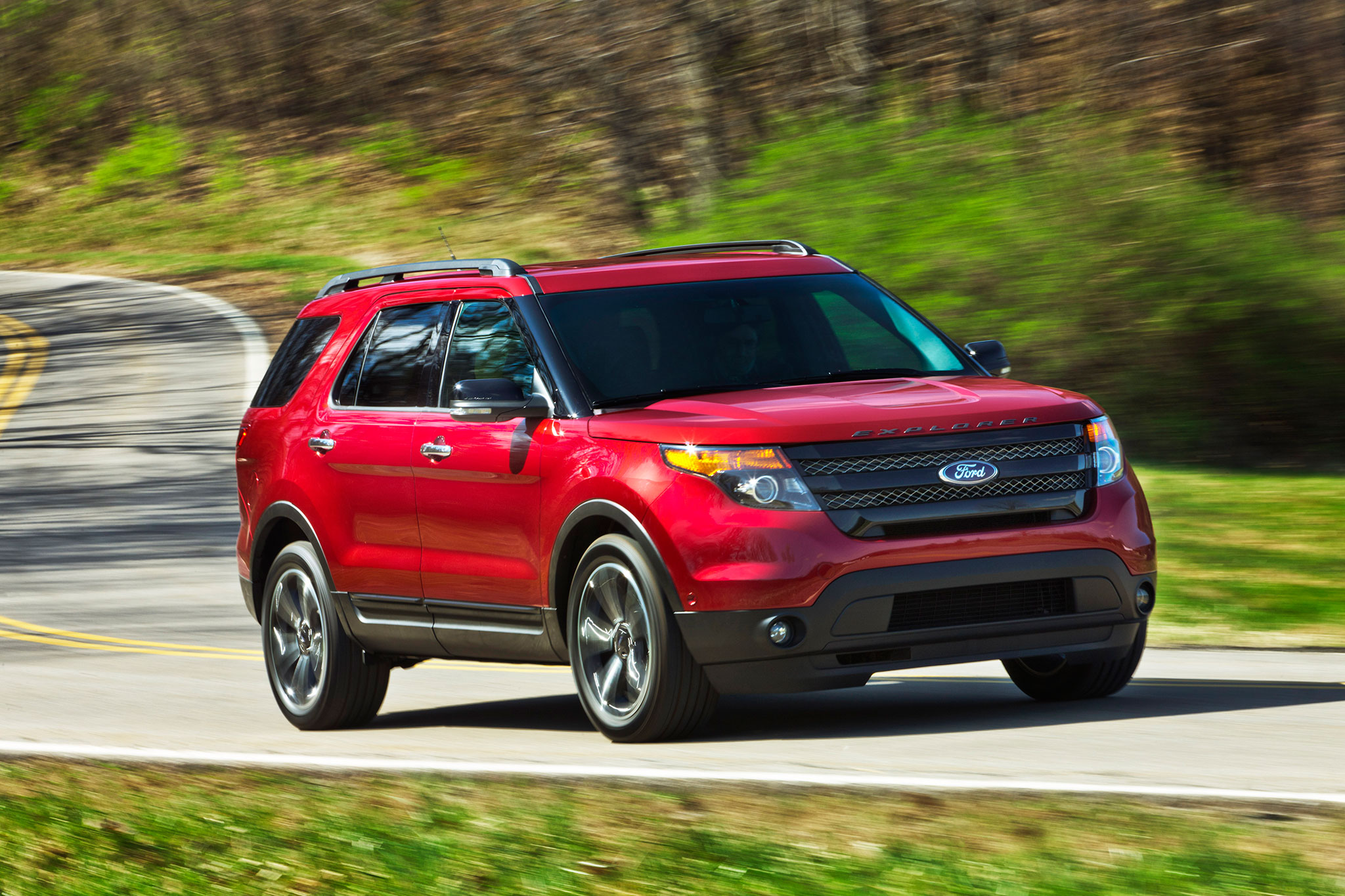 2015 Ford Explorer Gets