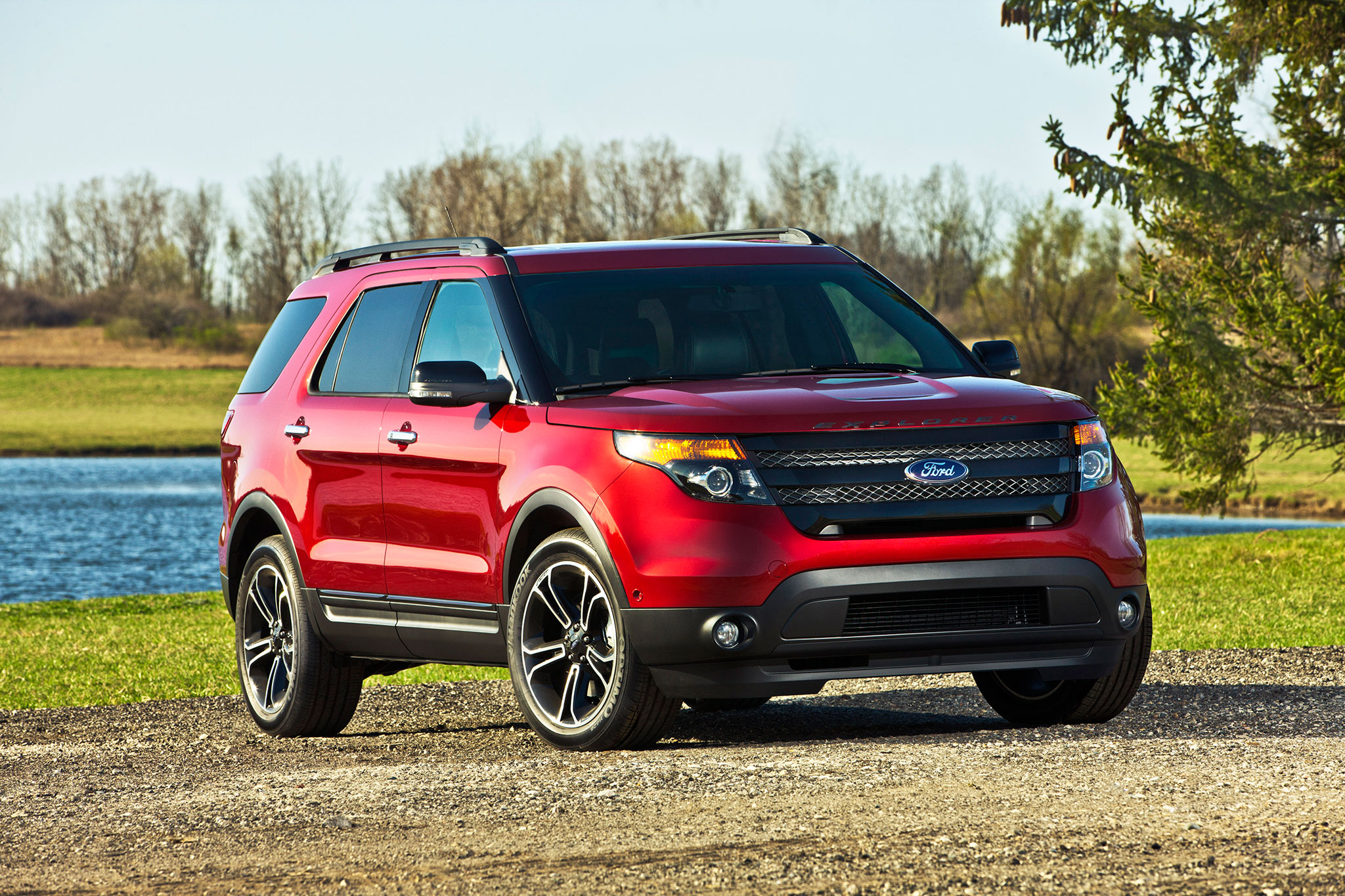 2015 Ford Explorer Gets Sporty Appearance Package Automobile 2014 Paint Color Chart Sport