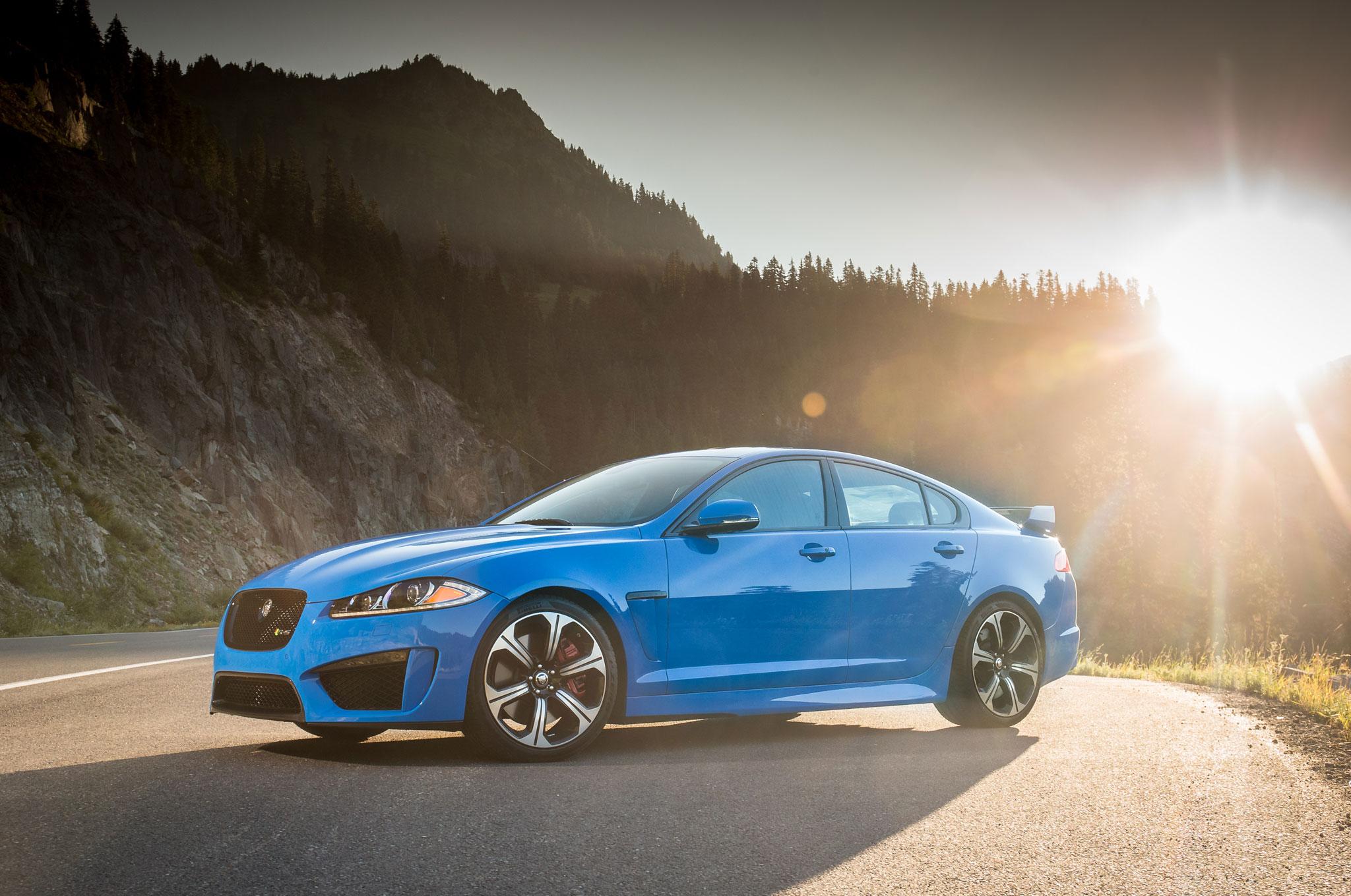 First Look: 2014 Jaguar XFR-S - Automobile Magazine