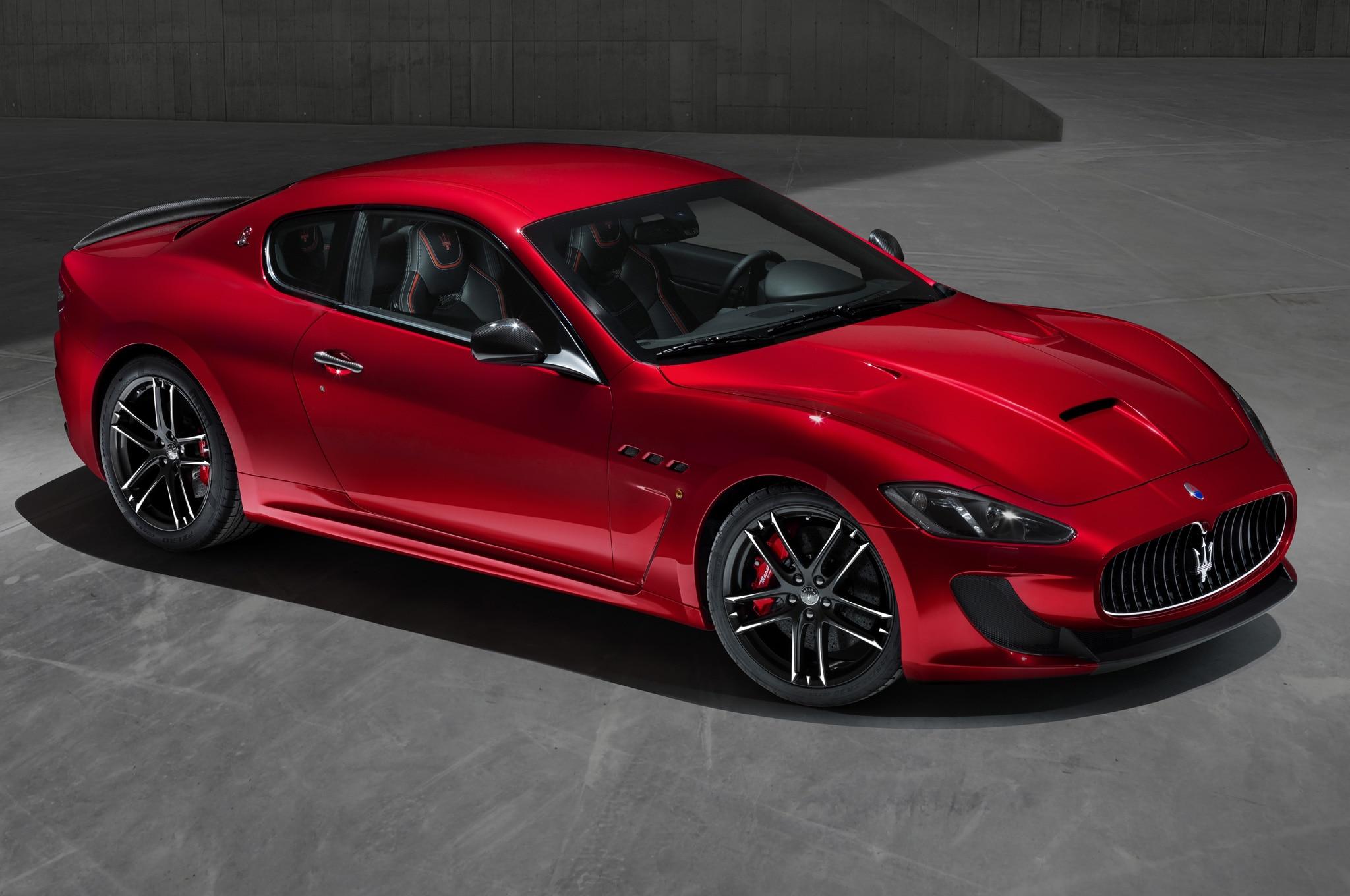2014 Maserati GranTurismo, GranCabrio MC Gain Centennial ...