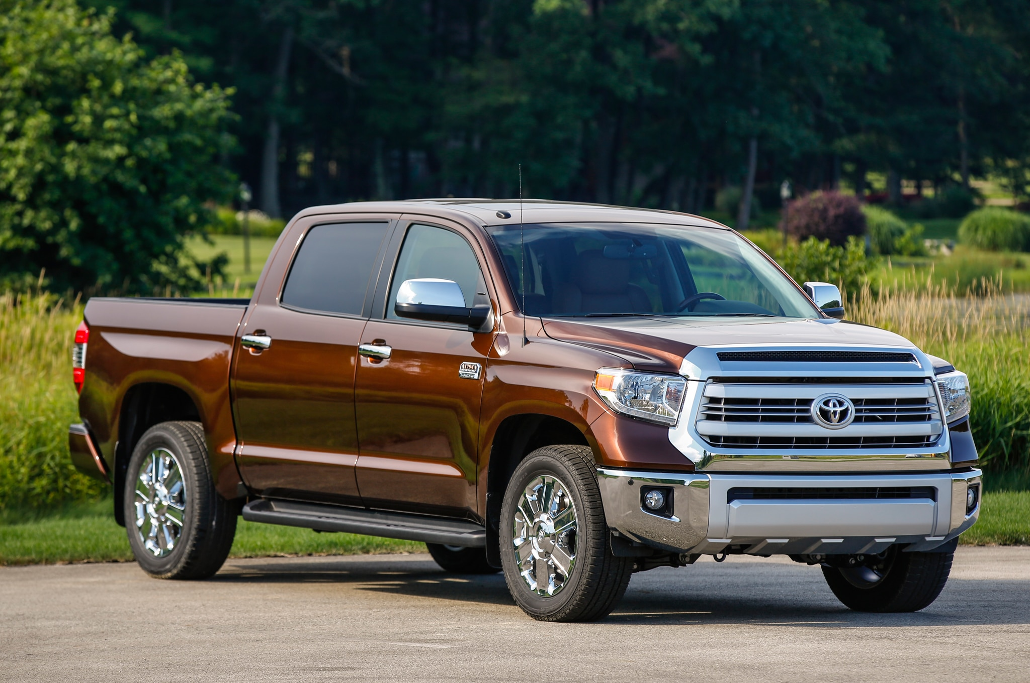Toyota Tundra Edition Front Three Quarters