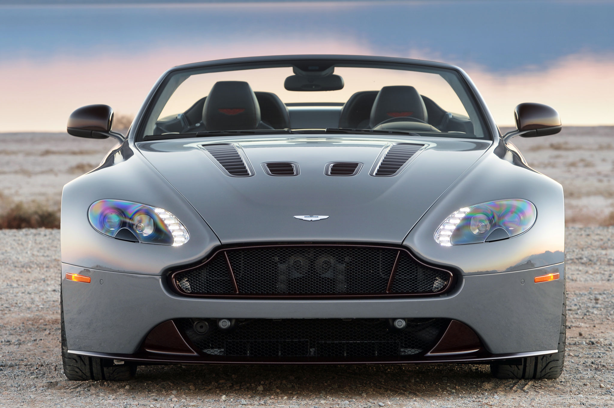 Watch The 2017 Aston Martin V12 Vantage S Attempt 205 Mph On Ignition