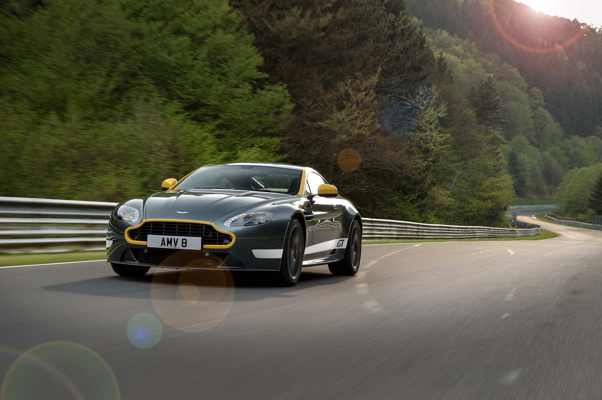 Aston Martin V Vantage GT Review Automobile Magazine - Aston martin gt