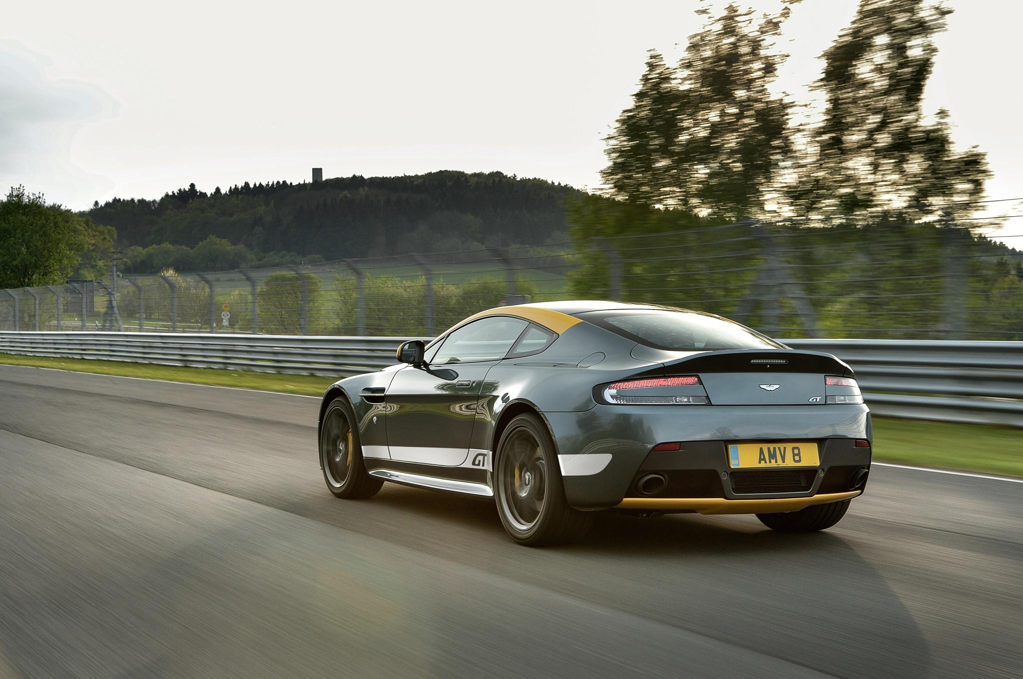 2015 Aston Martin V8 Vantage GT Review