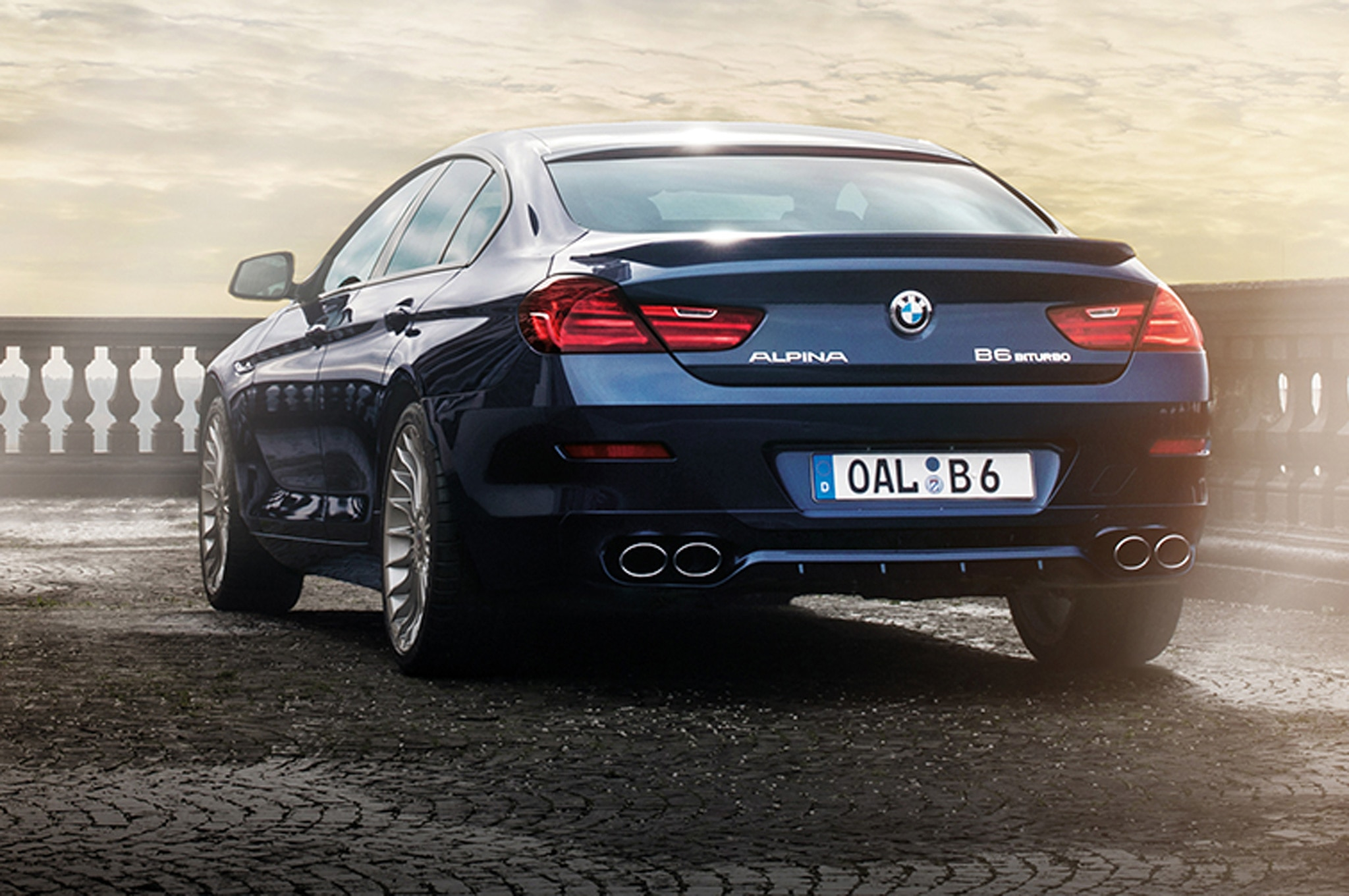 BMW Alpina B XDrive Gran Coupe Review Automobile Magazine - Alpina bmw b6