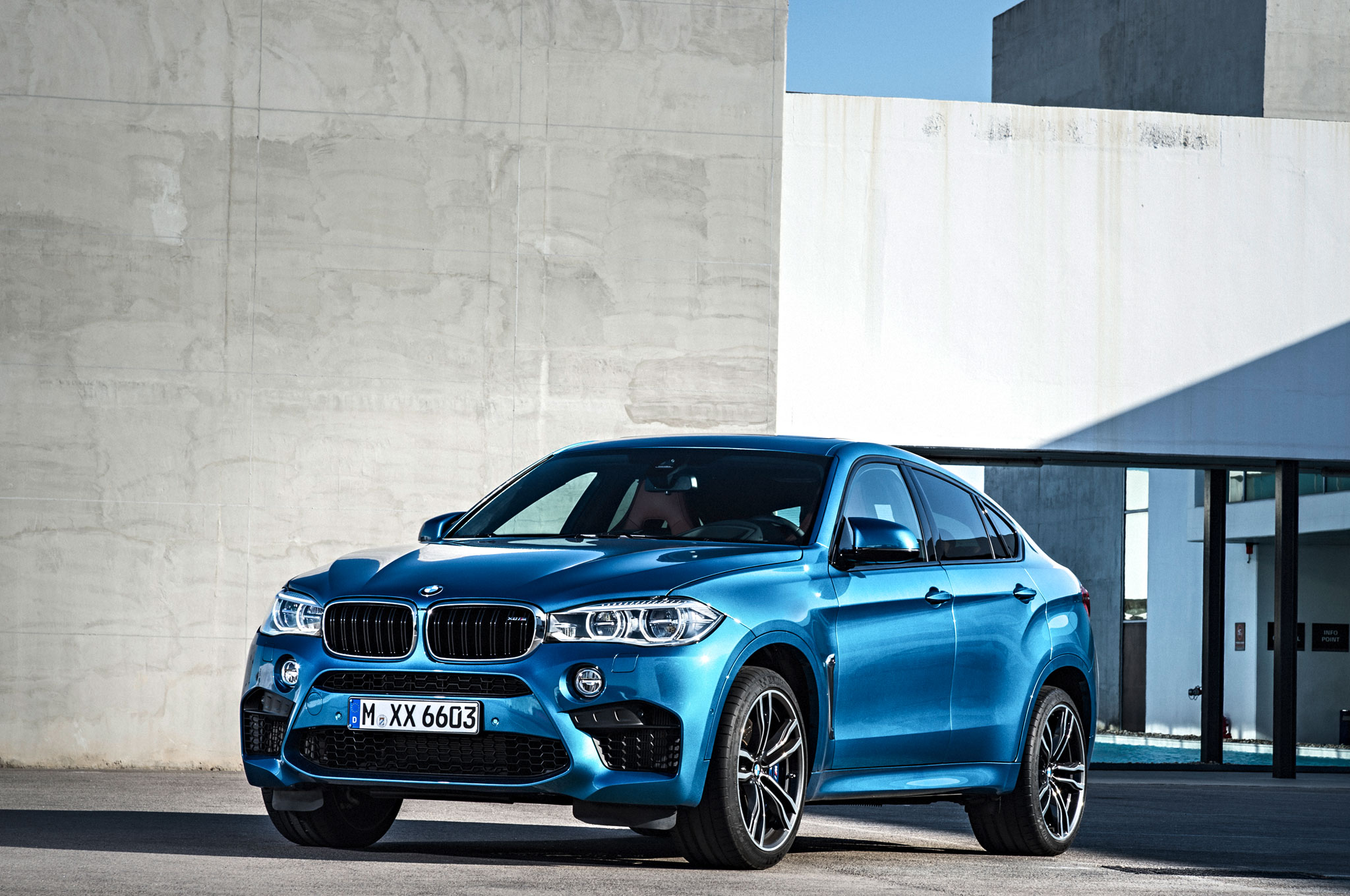 2015 Bmw X6 Updated Adds Rear Wheel Drive Model Automobile Magazine