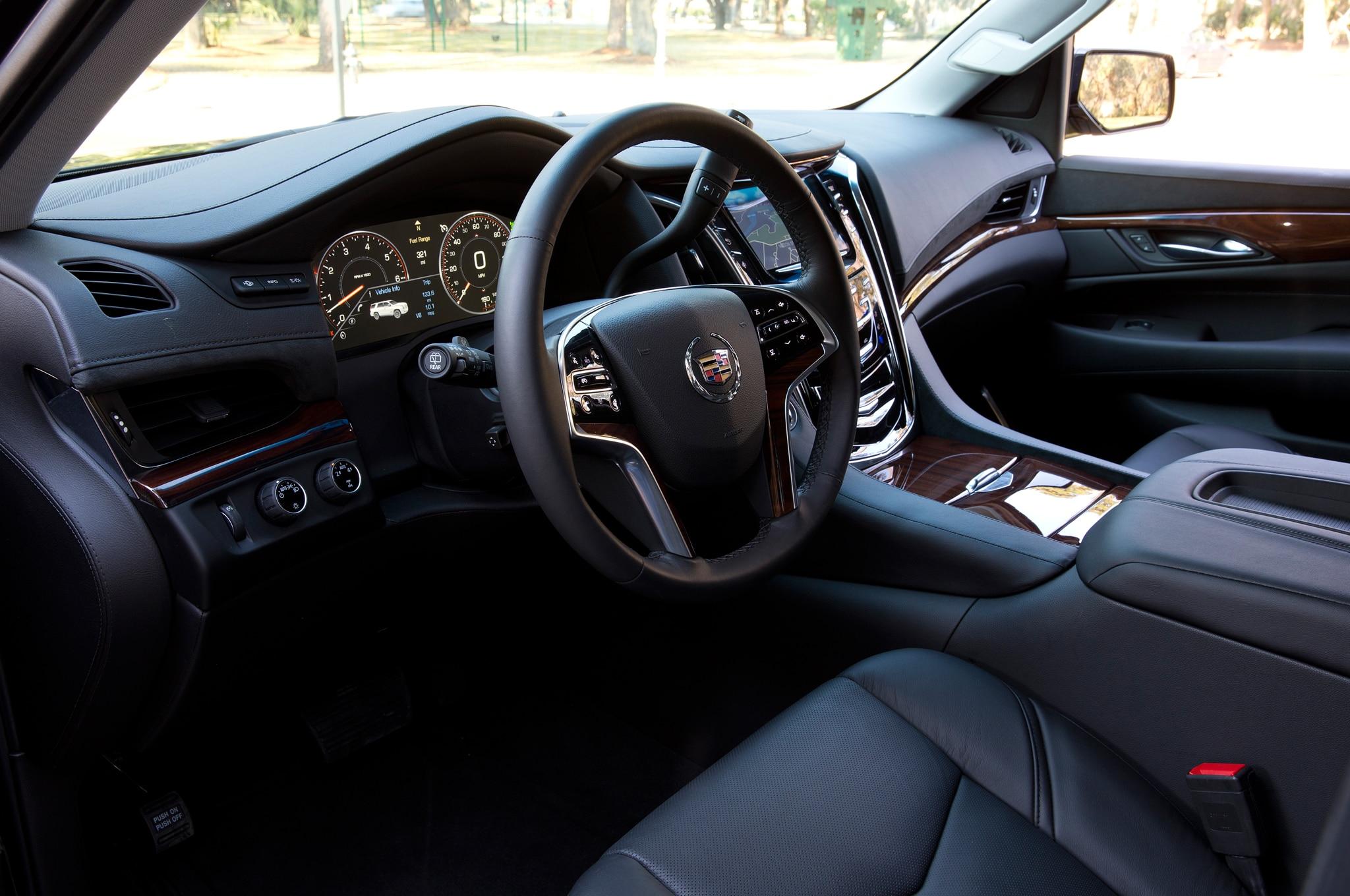 2015 Cadillac Escalade Interior Spied