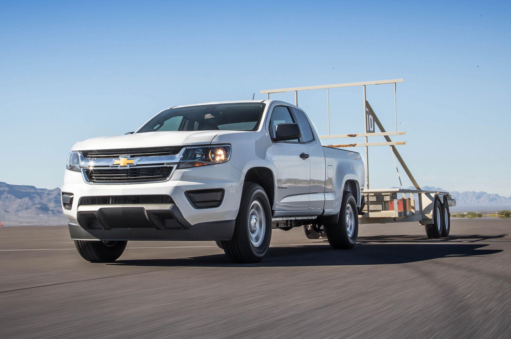2015 Chevrolet Colorado WT 25 Trailer