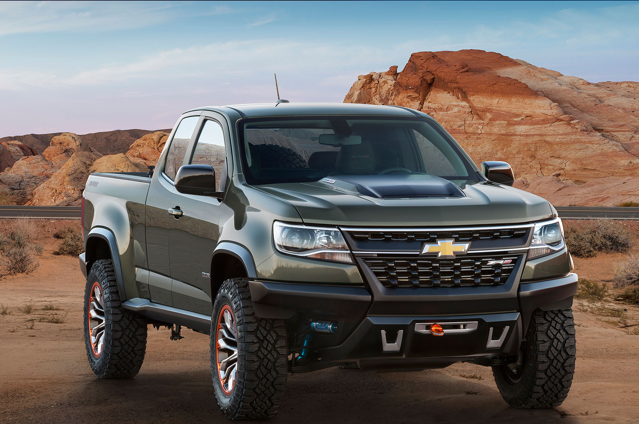 2017 Chevrolet Colorado Zr2 Concept