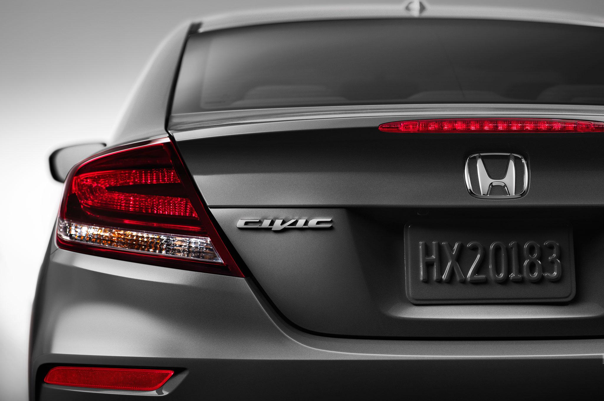 2015 Honda Civic Driver Side Tail Lamp 1