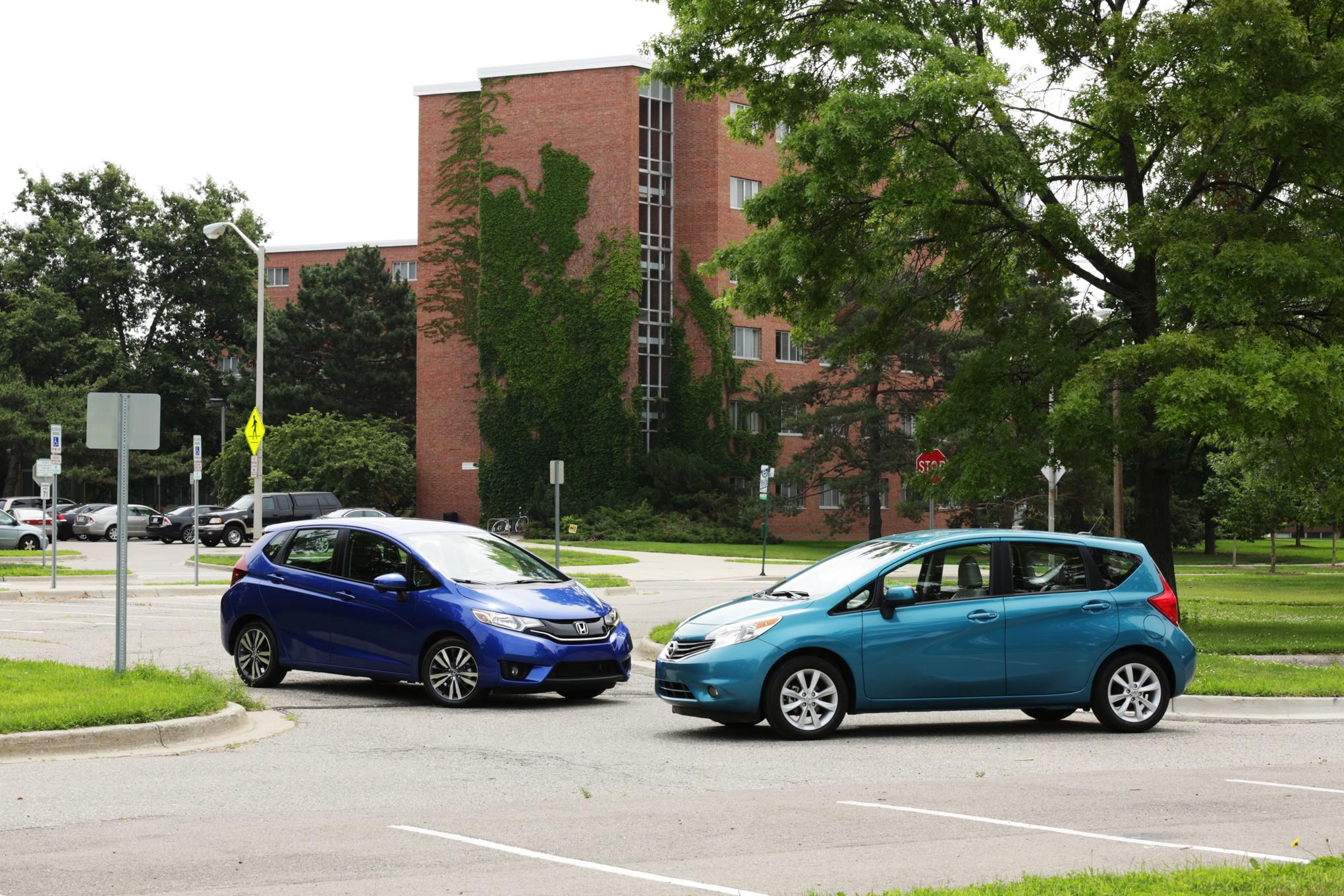 Ford Focus St Specs 0 60 >> 2015 Honda Fit EX-L vs. 2014 Nissan Versa Note SL Comparison