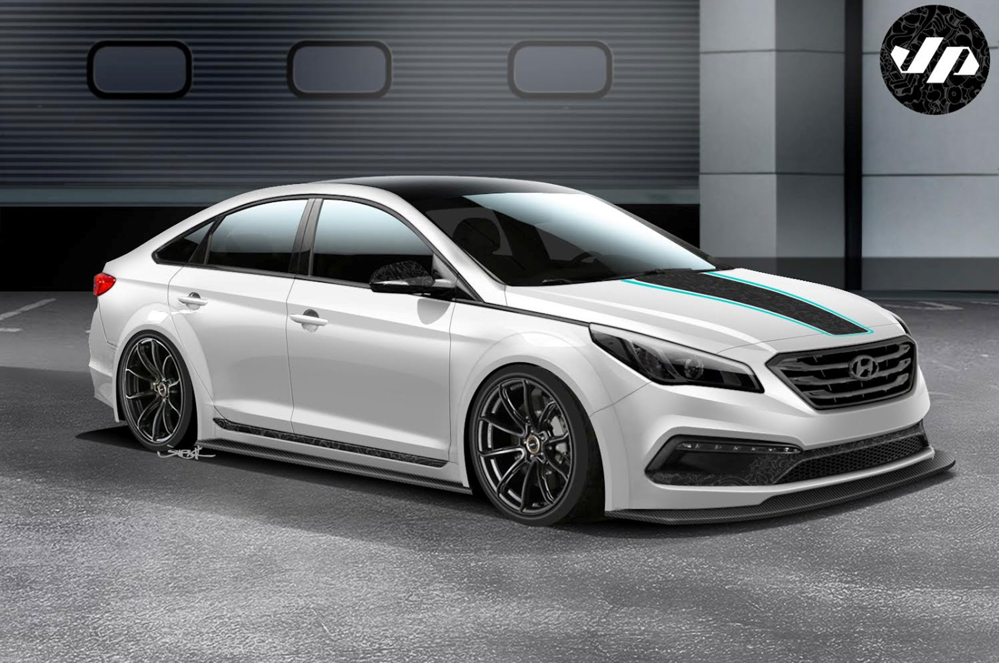 2017 Hyundai Sonata Jp Edition For Sema