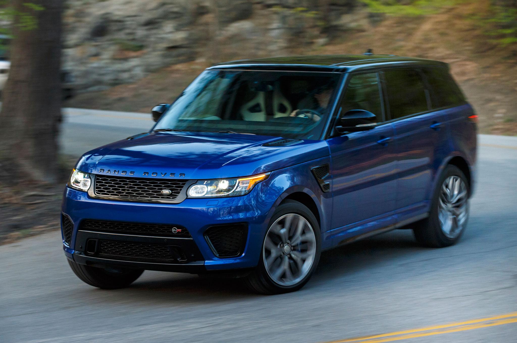 Latest Range Rover Sport >> 2015 Land Rover Range Rover Sport SVR Review | Automobile Magazine