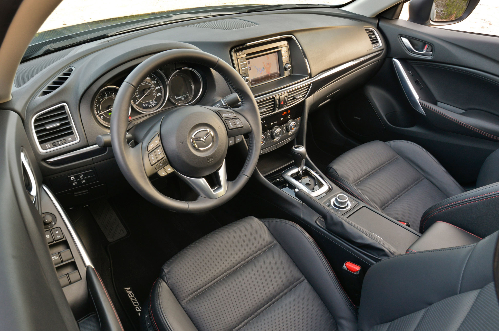 report mazda 6 coupe in the works rh automobilemag com Mazda 6 Interior Mazda 6 Interior