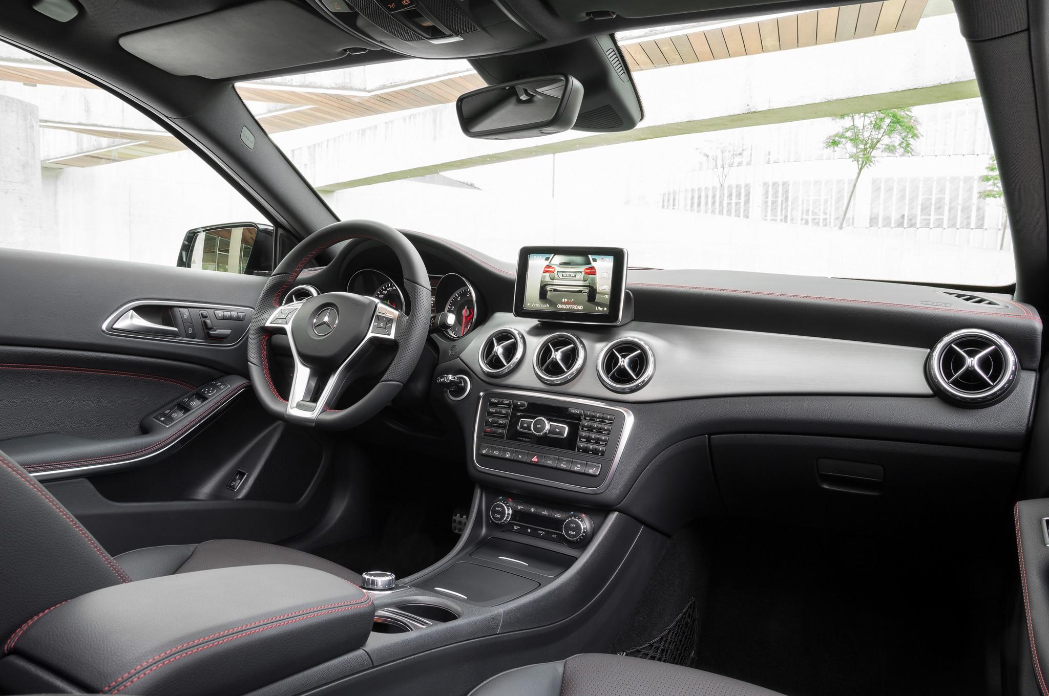 2015 Mercedes Benz Amg Gt Interior Revealed Automobile Magazine Gla Class