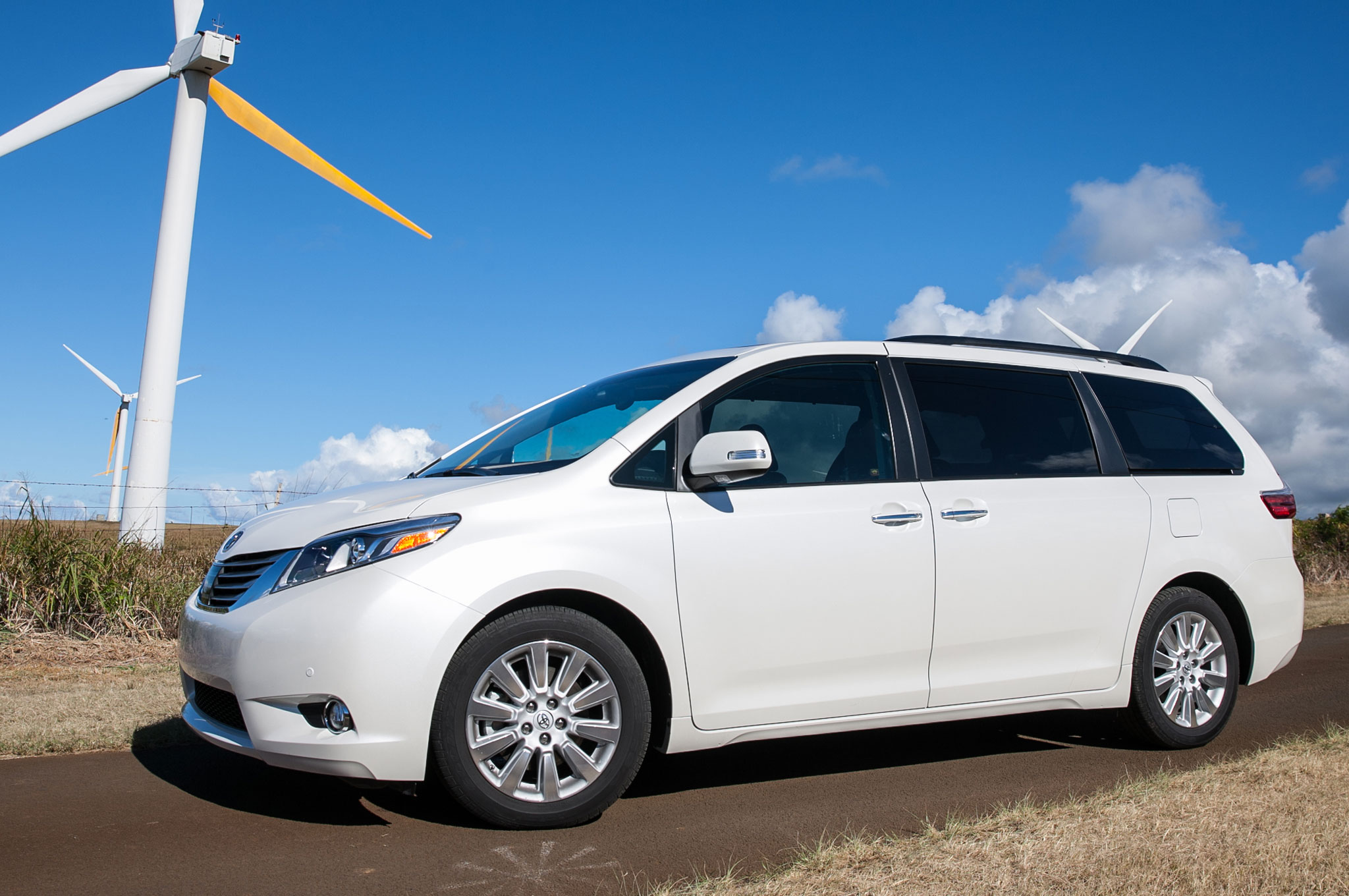 2015 Toyota Sienna Limited Driver Profile